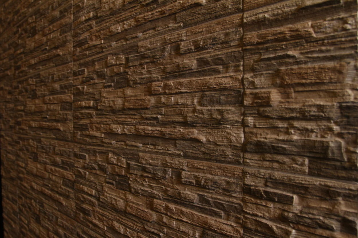 Partition Wall Backgrounds Brown Close-up Full Frame Pattern Textured  Wood - Material