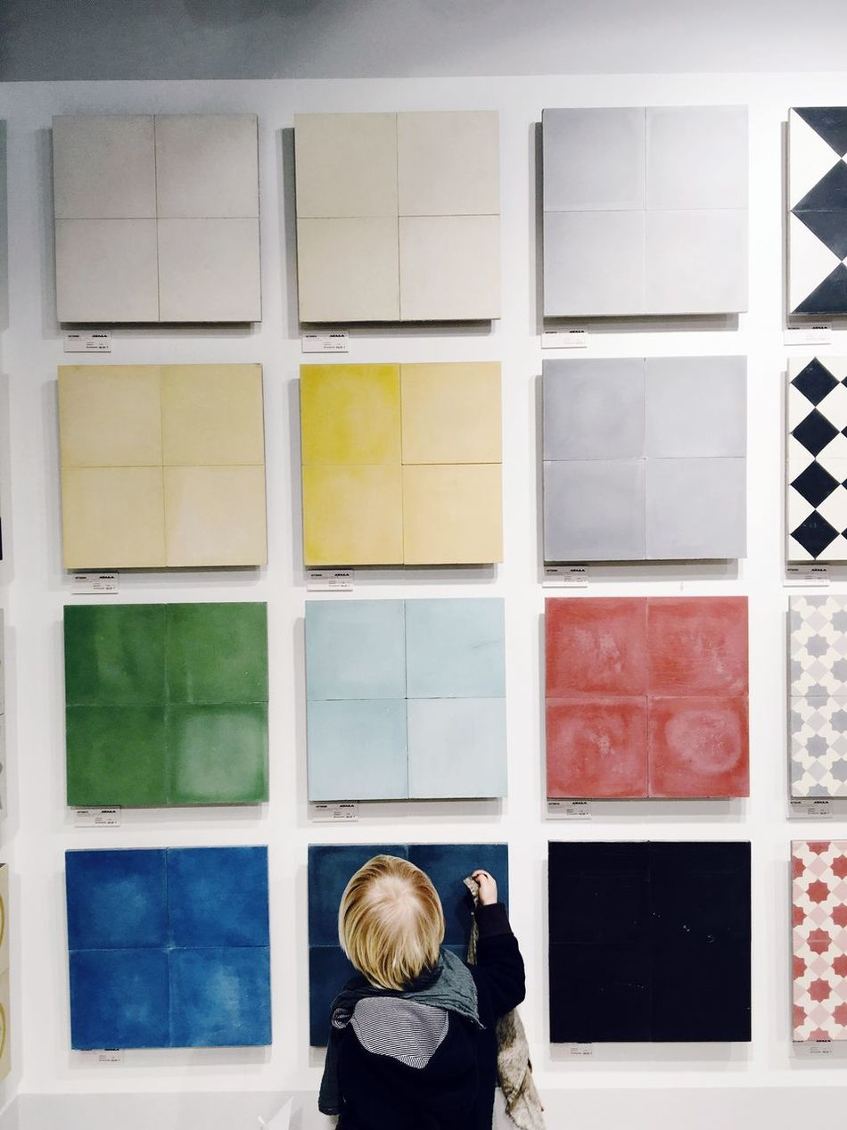 Tiles Kids Housebuilding Colours