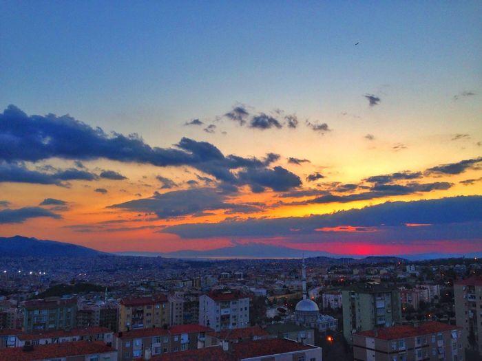 Sunsetizmir Sunset_collection Clouds And Sky Colours Buca  Izmir Turkey