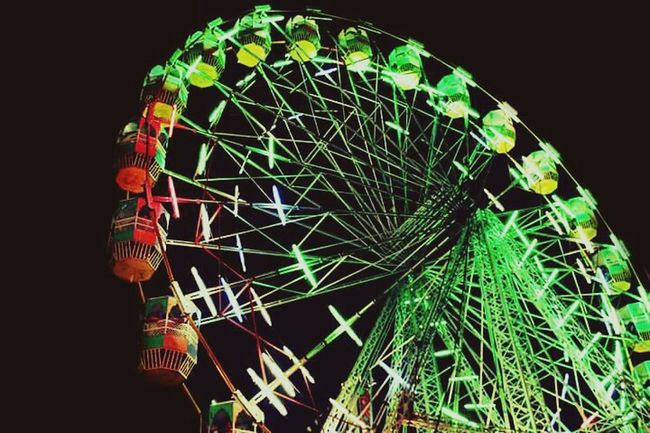 The symbol of every Indian Mela (event). This giant wheel represents the celebrations and colourful event taking place on occasions such as Diwali, spring season celebrations. Giant Wheel Diwalicelebrations Diwali Lights Colors Canon Newdelhi India First Eyeem Photo