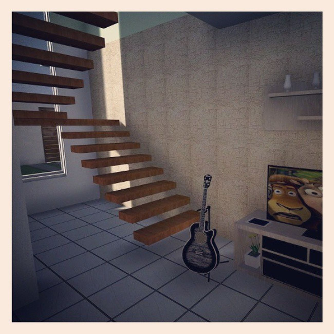 MaqueteVirtual Lumion3D SketchUp ArquiteturaNaVeia instalove amoMtoTudoIsso