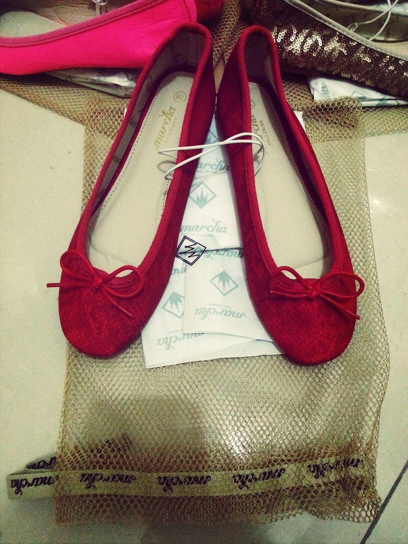 ♥ Marcha Ballerina, ♥ Red!