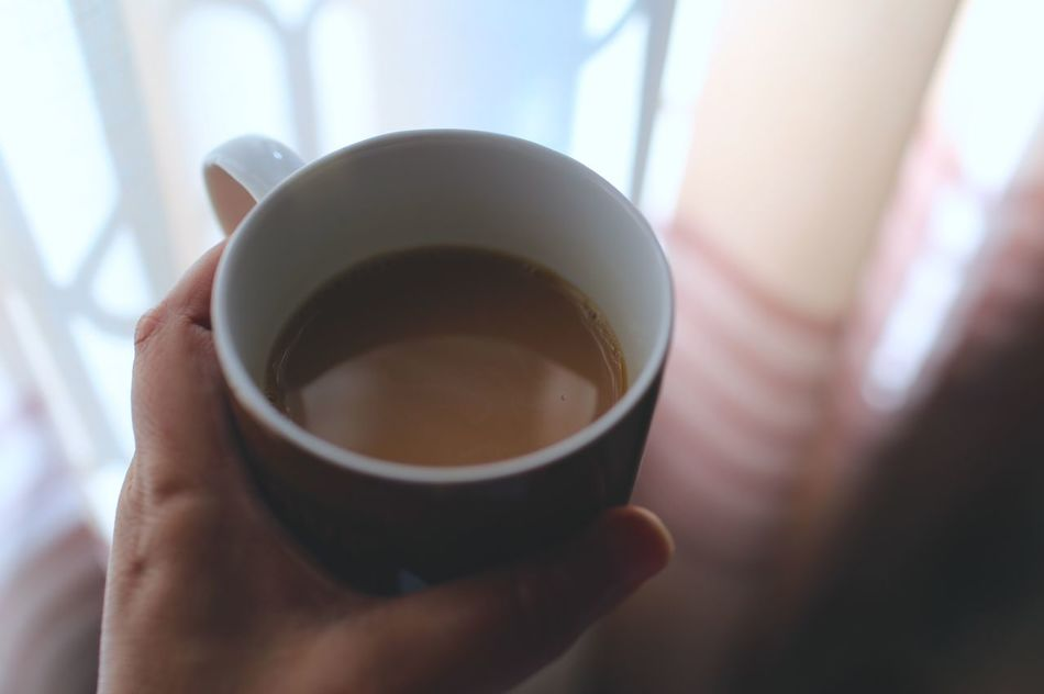 Close-up Coffee Cup Cup Day Drink Holding Human Body Part Human Hand Lifestyles Light And Shadow No People Refreshment Tea - Hot Drink Tea Cup Tea Time