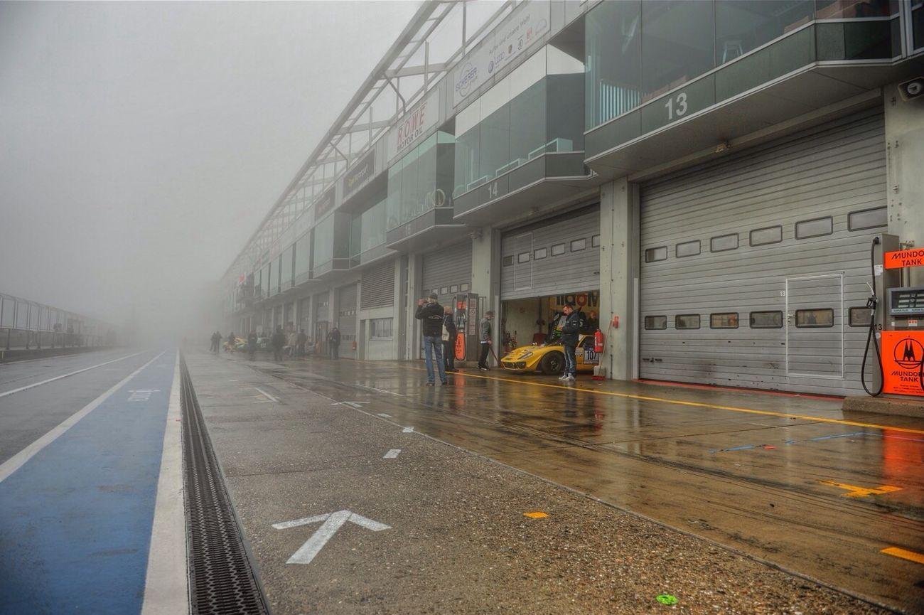 Nürnberg Nurburgring Racing Car Cars Racing Race Fog Foggy Day
