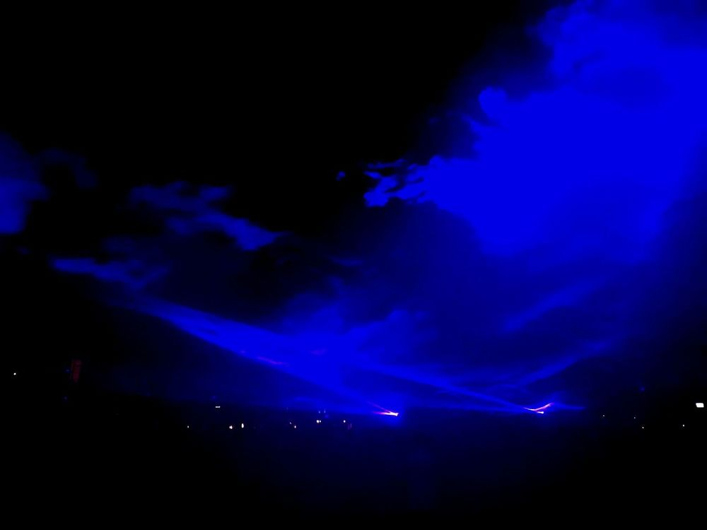 Night Arts Culture And Entertainment Blue Waterlight Nightlife Star - Space Illusion Lazershow Underwater Feeling Artistic Outdoors