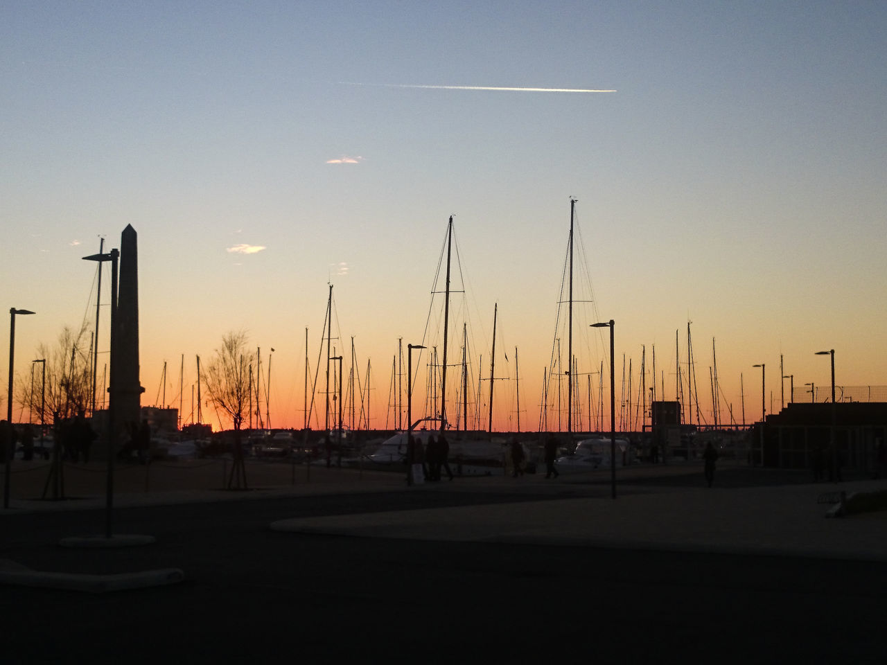 Barche A Vela Harbor Harbour Mare Porto Sailing Boat Sea Sunset Tramonto