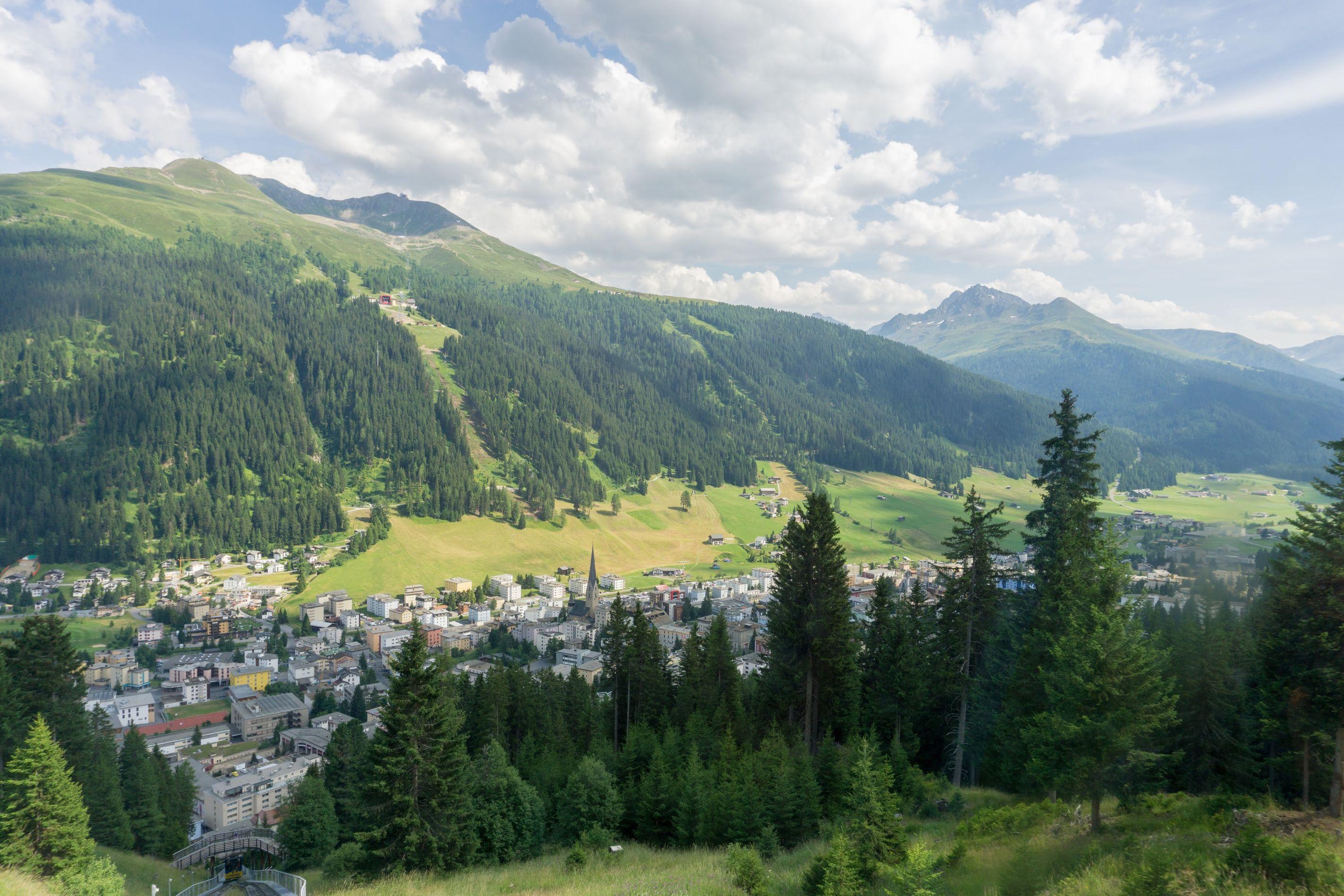 Davos mountains schatzalp 1600m Cheese