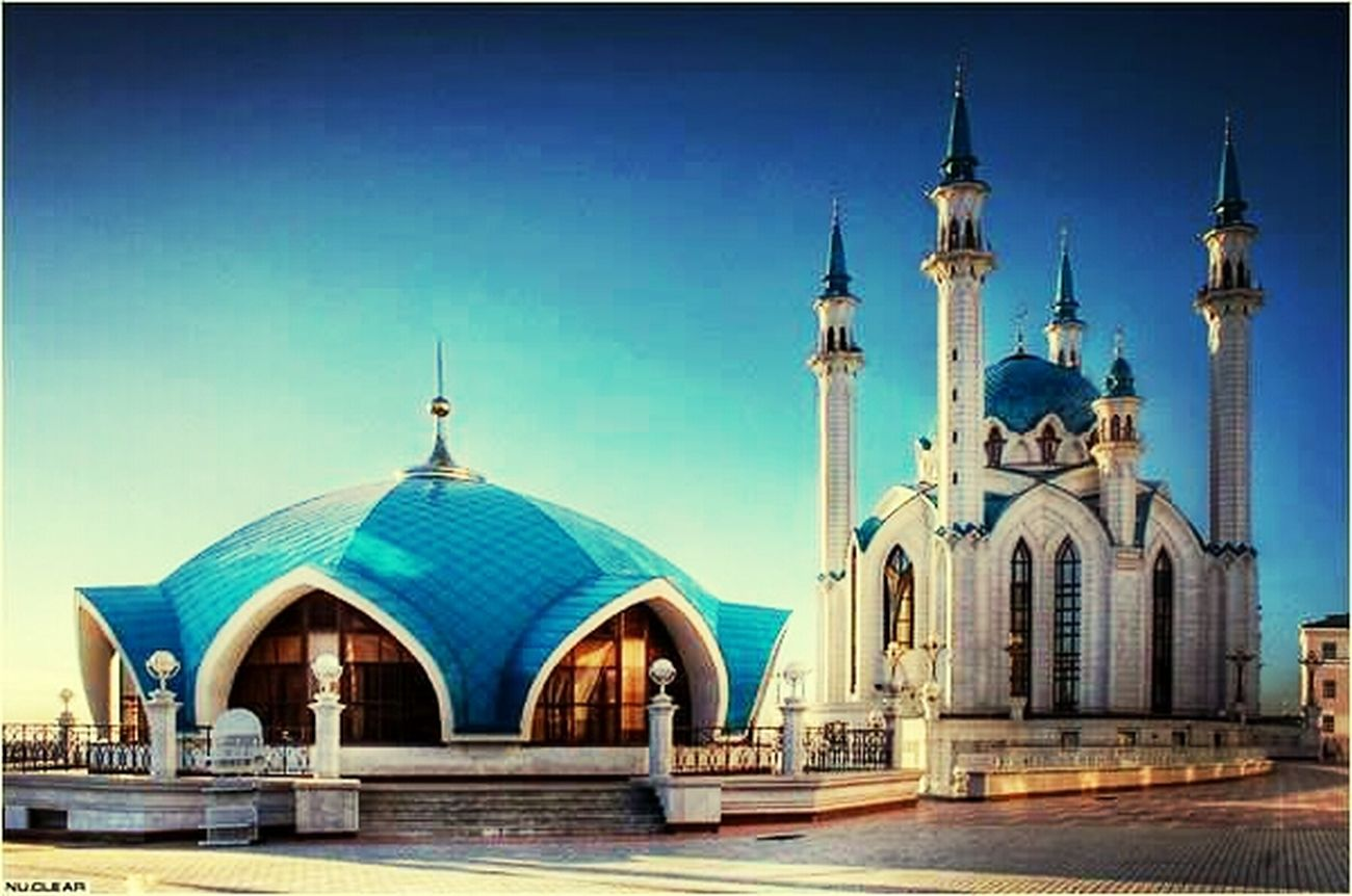 Most beautiful masjid in the world-russia