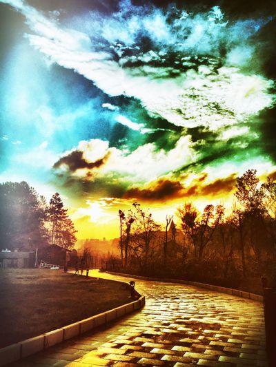 sky Checking In Hello World Enjoying Life
