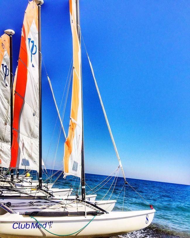 Clubmedpalmiye Endofsummer Sailing Sailing Boat Vacations EyeEm Best Edits Enjoying The Sun