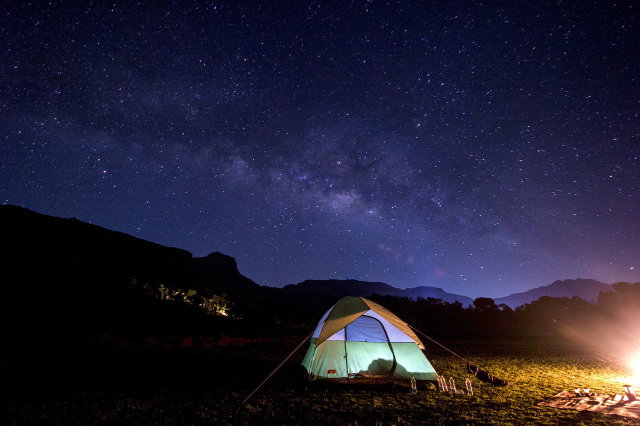 How about Milky way guarding your tent :) Bhandardara Campfire Camping Galaxy Maharashtra Milky Way Milkyway On Earth Moutains Night Sky Night View Nightphotography Sky Star Steller Tent Tricolor