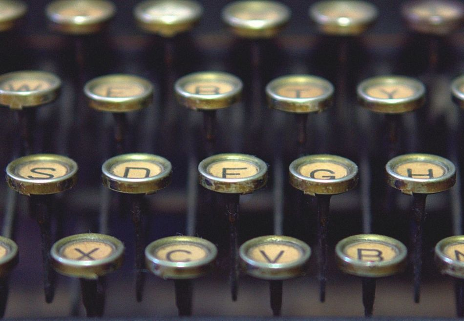 Beautiful stock photos of keyboard, Alphabet, Antique, Close-Up, Full Frame