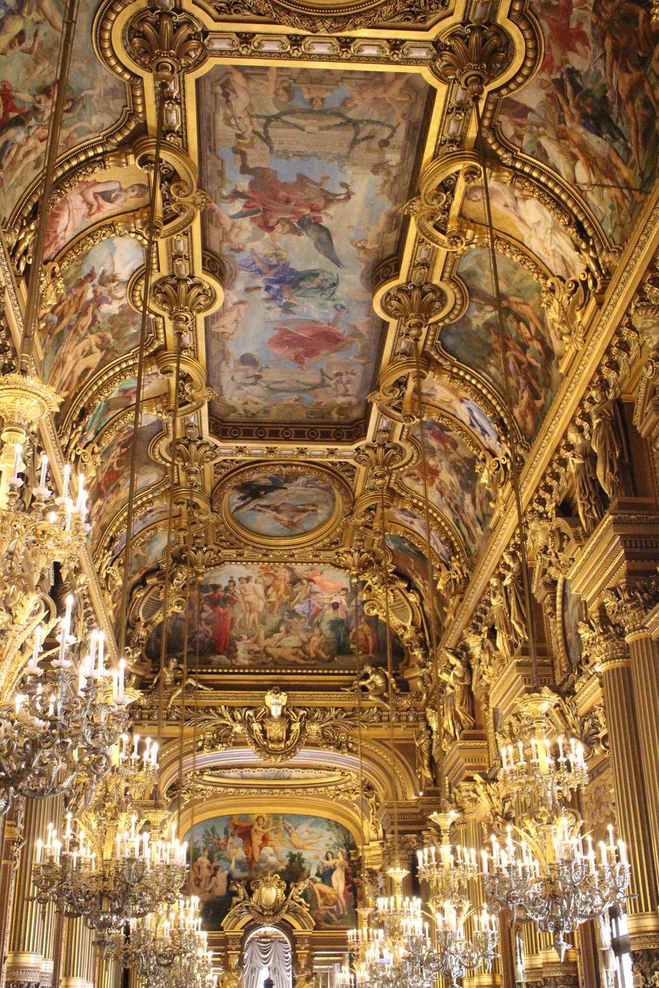 The Architect - 2016 EyeEm Awards Palais Garnier Opera Garnier Paris France Grand Foyer Paul Baudry