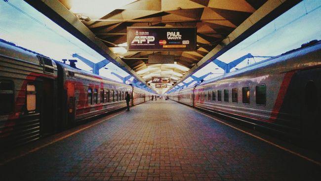 Trainstation Subway Moscow Railway Railroad Railwaystation Rzd First Eyeem Photo