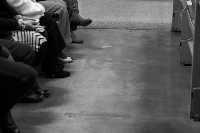 Prayer in waitingWaiting Alldressedupandnowheretogo Blackandwhite ChurchShoeGame Clear Sky Copy Space Desert Familyevent FootPrint Friendship Fun Human Leg Leisure Activity Lifestyles Low Section Monochrome Music Occupation Photography Real People Seriously? Sittingattheriverside SundayBest Tucson Unrecognizable Person Waitingtoflyaway