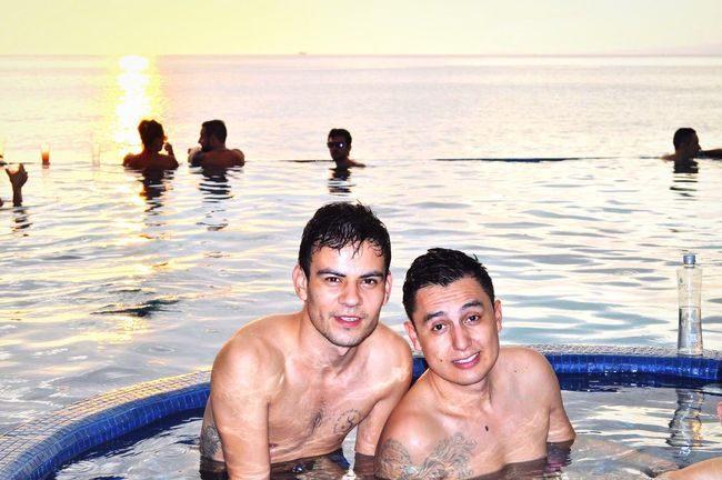 Beach Infinity Pool Ocean View Summertime Together GayLove Office Of The Day This Is How We Work Gem Wealth Generator