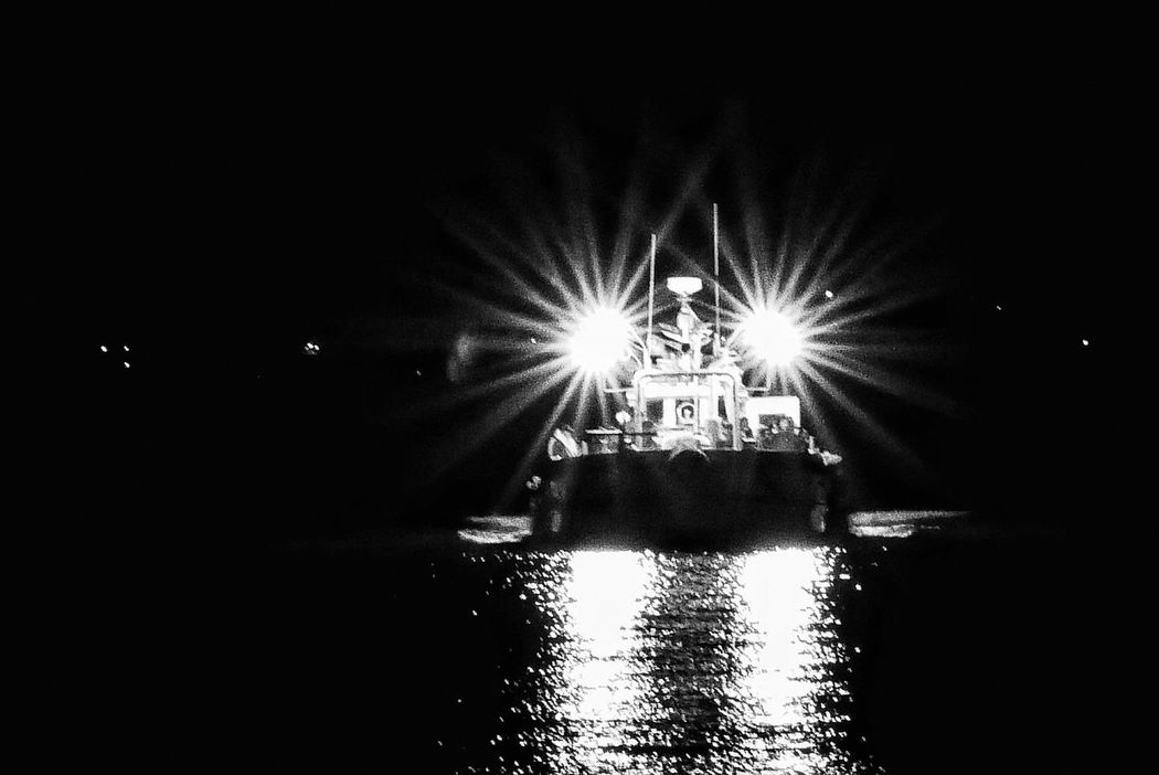 Korea Photos Return To Port Sailboat Sea Port Early Dawn Harbour Fishing Yacht Fishing Boats Fisherman Fishermen's Life Travel Blackandwhite Bnw_life Nightshot Night View Sailing Black And White Bnw Illuminated No People Outdoors Streamzoofamily Streamzoofamily Friends