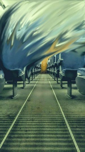 Train Psychedelicart ICE Train Firstclass Alonetrip EyeEmNewHere