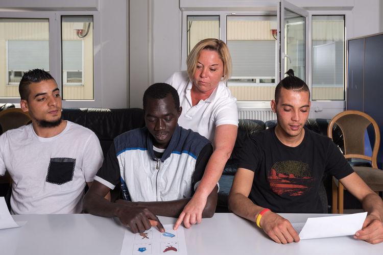 Course Education German Germany Help Helping Refugees Integration Language Learning Refugee Refugeecamp Refugees Refugees Welcome Refugeeswelcome Teacher Training Volunteer Volunteering Camp