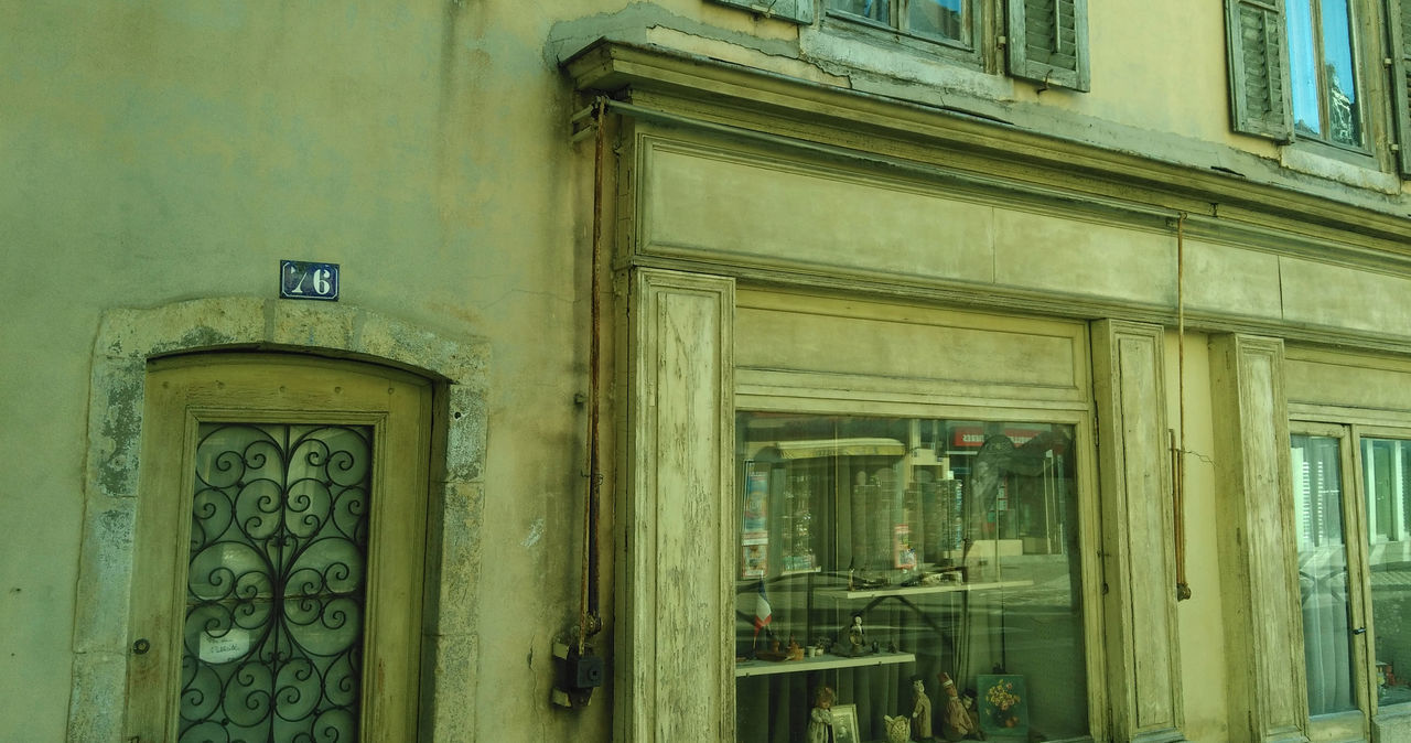 76 Architectural Detail Architecture Architecture Commerciale Boutique Building Exterior Built Structure Closed Detail Devanture Door Doubs Exterior Festival Marionnettes No People Pontarlier Vitrin Vitrine Wall Window