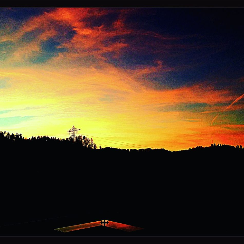 Sunset Sun Red Orange Sky Amazing Taking Photos Followme Awesome