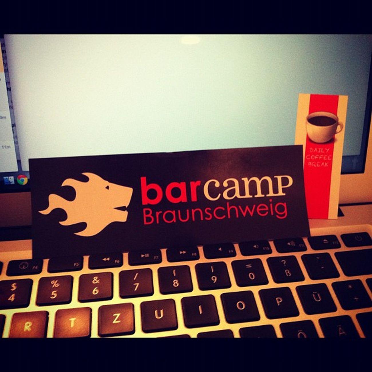 Der DailyCoffeBreak wurde auch auf dem Barcamp Braunschweig entdeckt #barbs2011 #dcb Barbs2011 Dcb