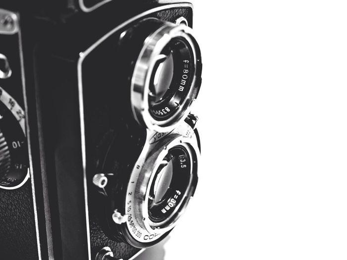 Tlr Photography Analog Camera Vintage TLR medium format camera from 1957