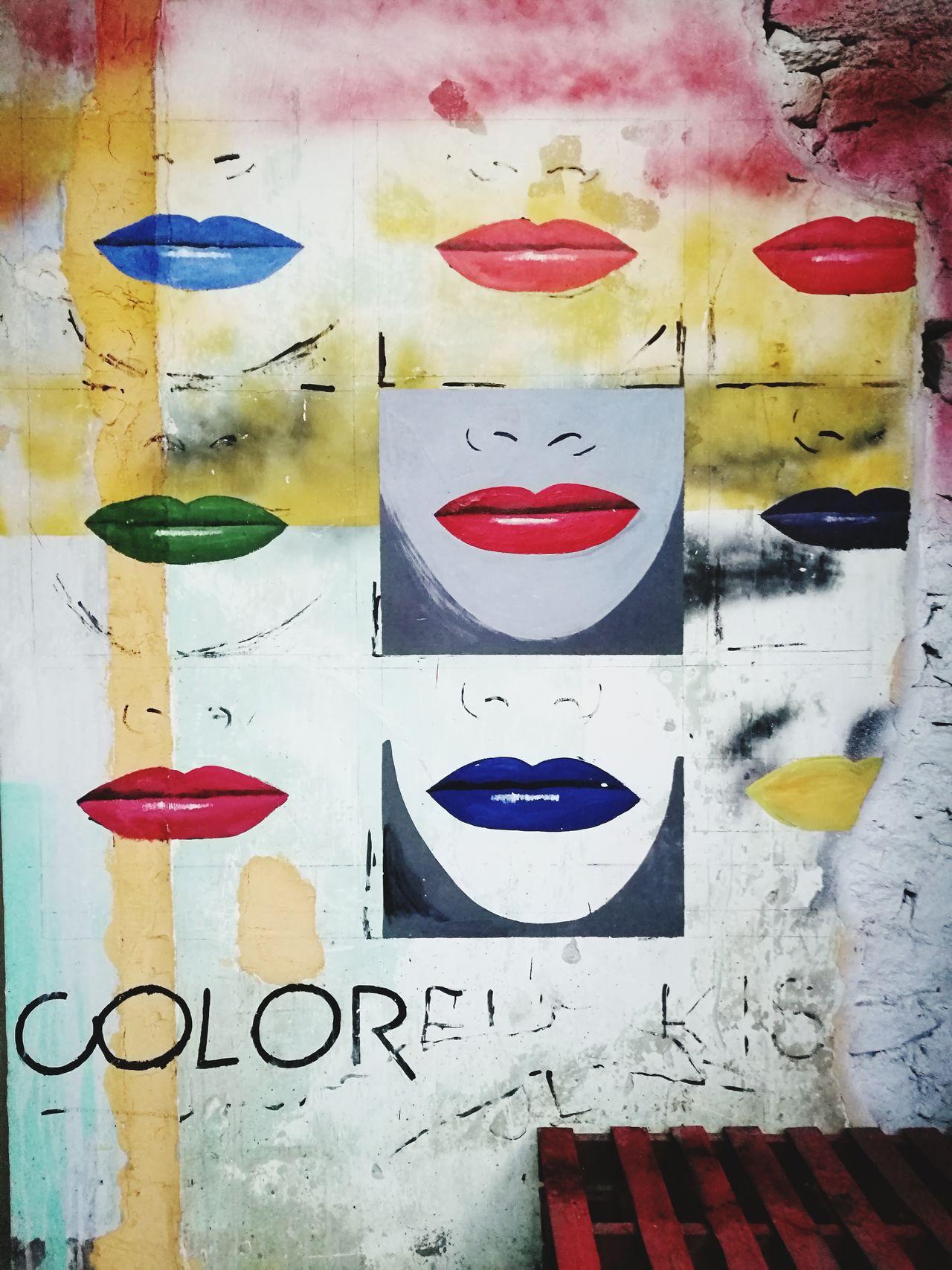 Freespirit Close-up Graffiti & Streetart Lips ♡ Inside Things