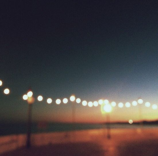 Beach Portugal Light Sky Defocused No People Illuminated Night Outdoors Nature Close-up First Eyeem Photo