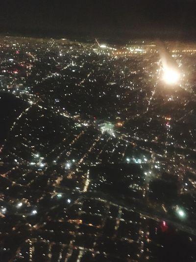 Travel ✈️🇲🇽 Mexico City Airplane Mexico Sky Cityscape Nightphotography Mylife Travel