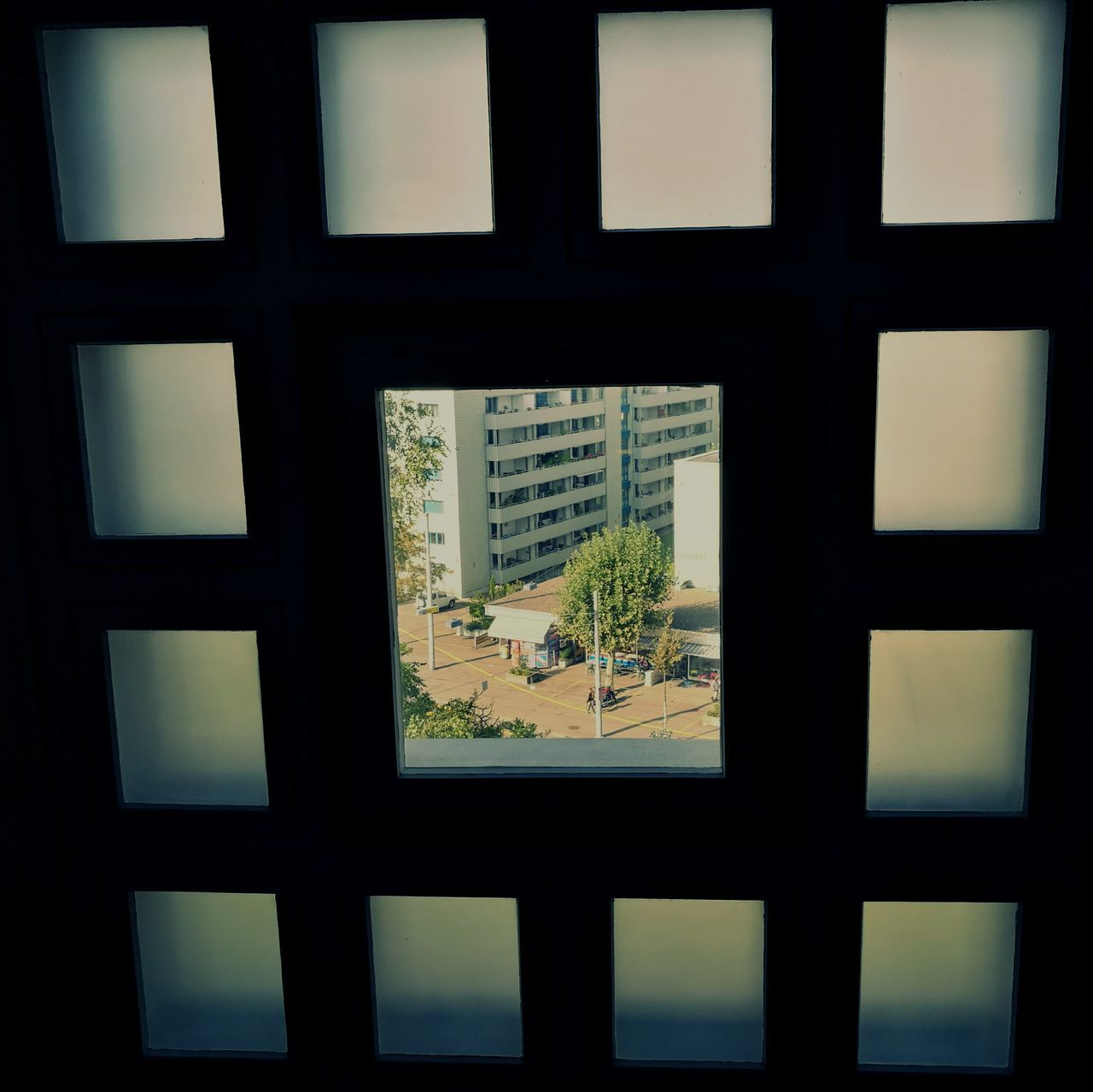 Window Glass - Material Window Frame Geometric Shape Indoors  Geometric Forms Full Frame Taking Photos EyeEm Gallery The Week Of Eyeem From My Point Of View Urban Photography Trough The Glass Trough The Window Urban Geometry Architectural Detail EyeEm Best Shots Frame In Frame Framed The Week On Eyem The Week On EyeEem