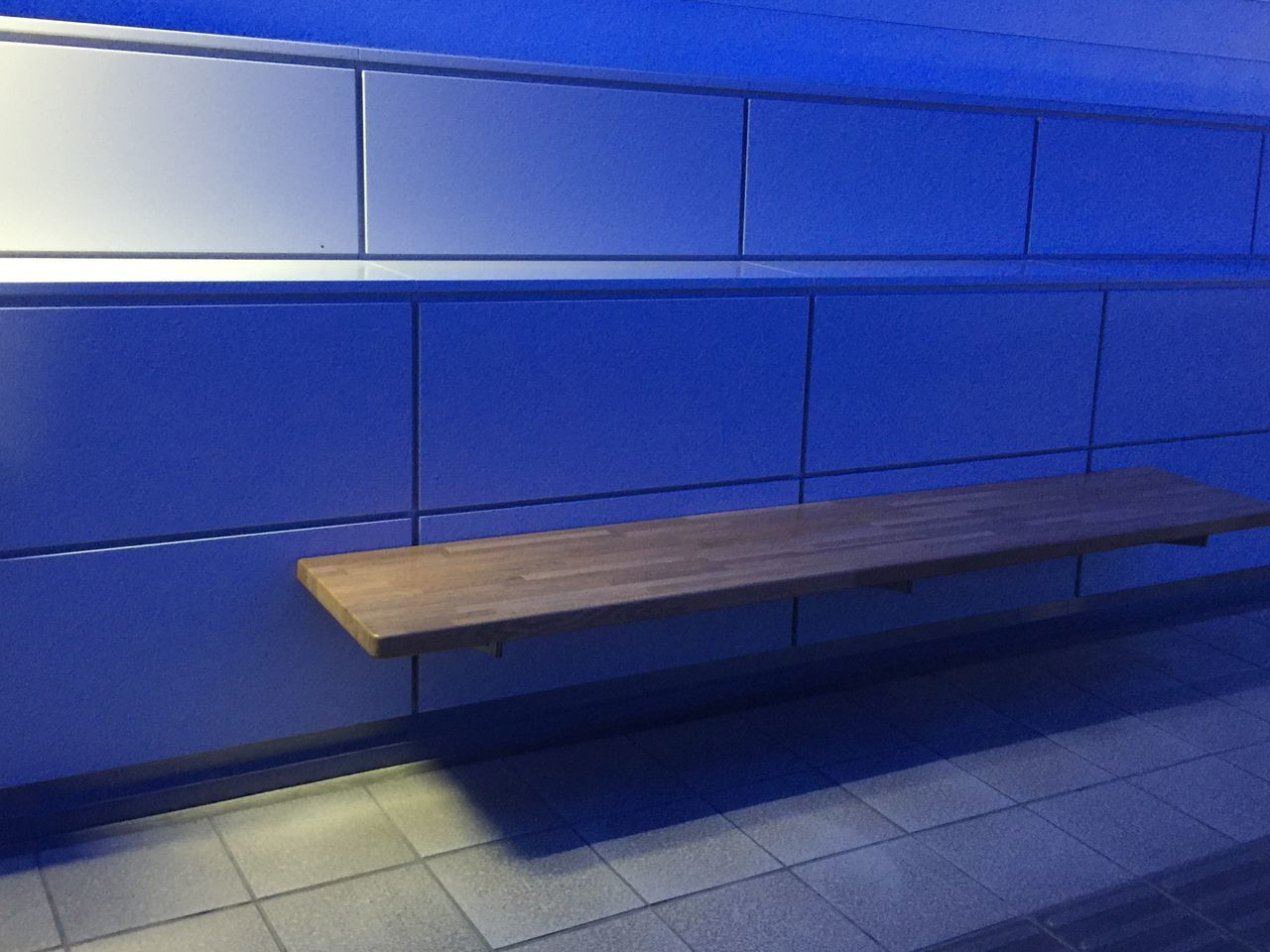 blue, transportation, no people, indoors, architecture, day