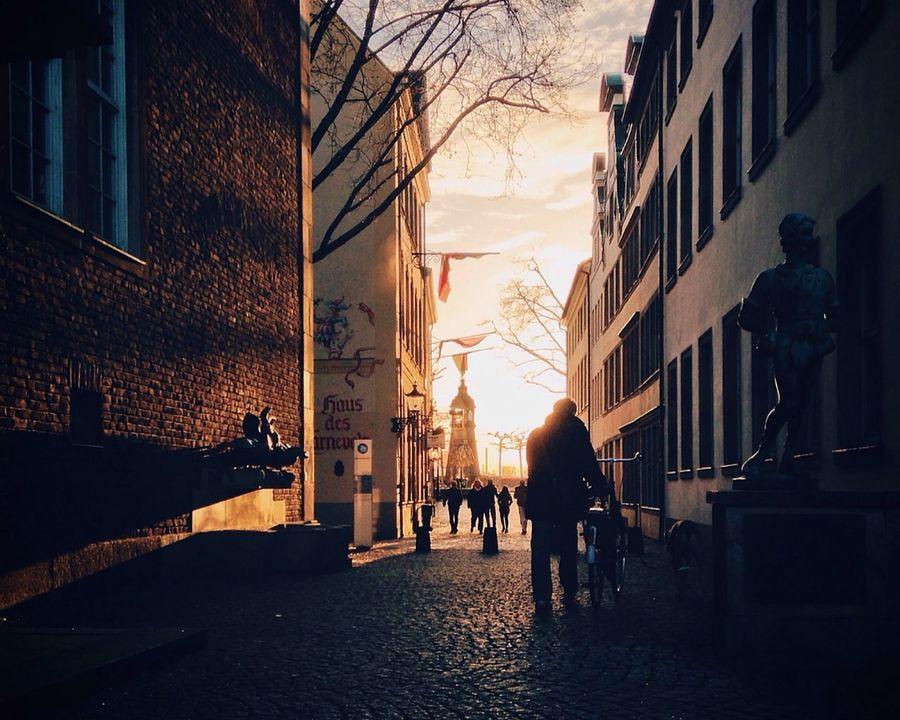 Düsseldorf Altstadt Lichtblick