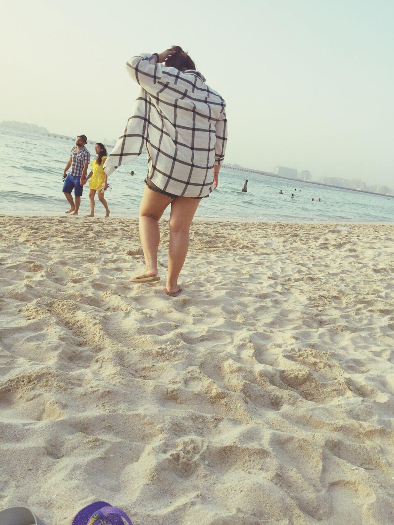 Being A Beach Bum Enjoying The Sunset