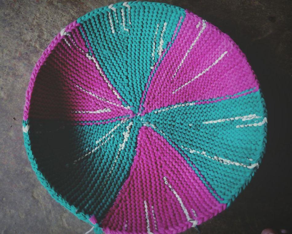 Doormat Handmade Pink And Green Creativity ☺