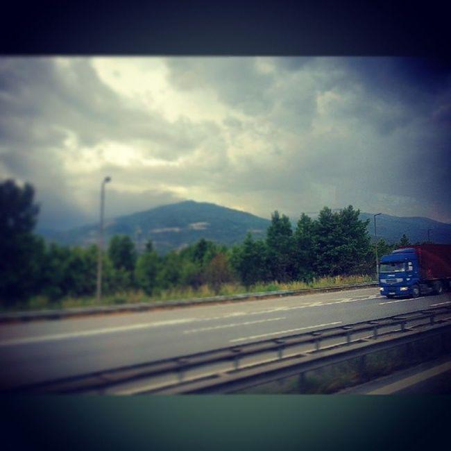 Kamyon Otobus Yol Travel Holiday