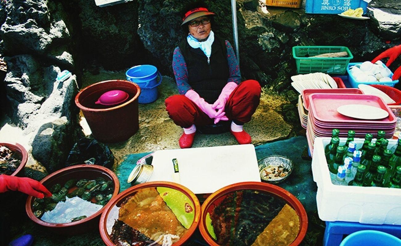Women Diver JEJU ISLAND  South Korea