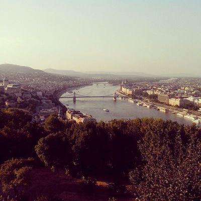 Budapest ♥ Budapest Beautifull City Danubio Fiume Ponte Delle Catene E Della Fortuna Buda Pest Holiday Sightseeing Wonderfull