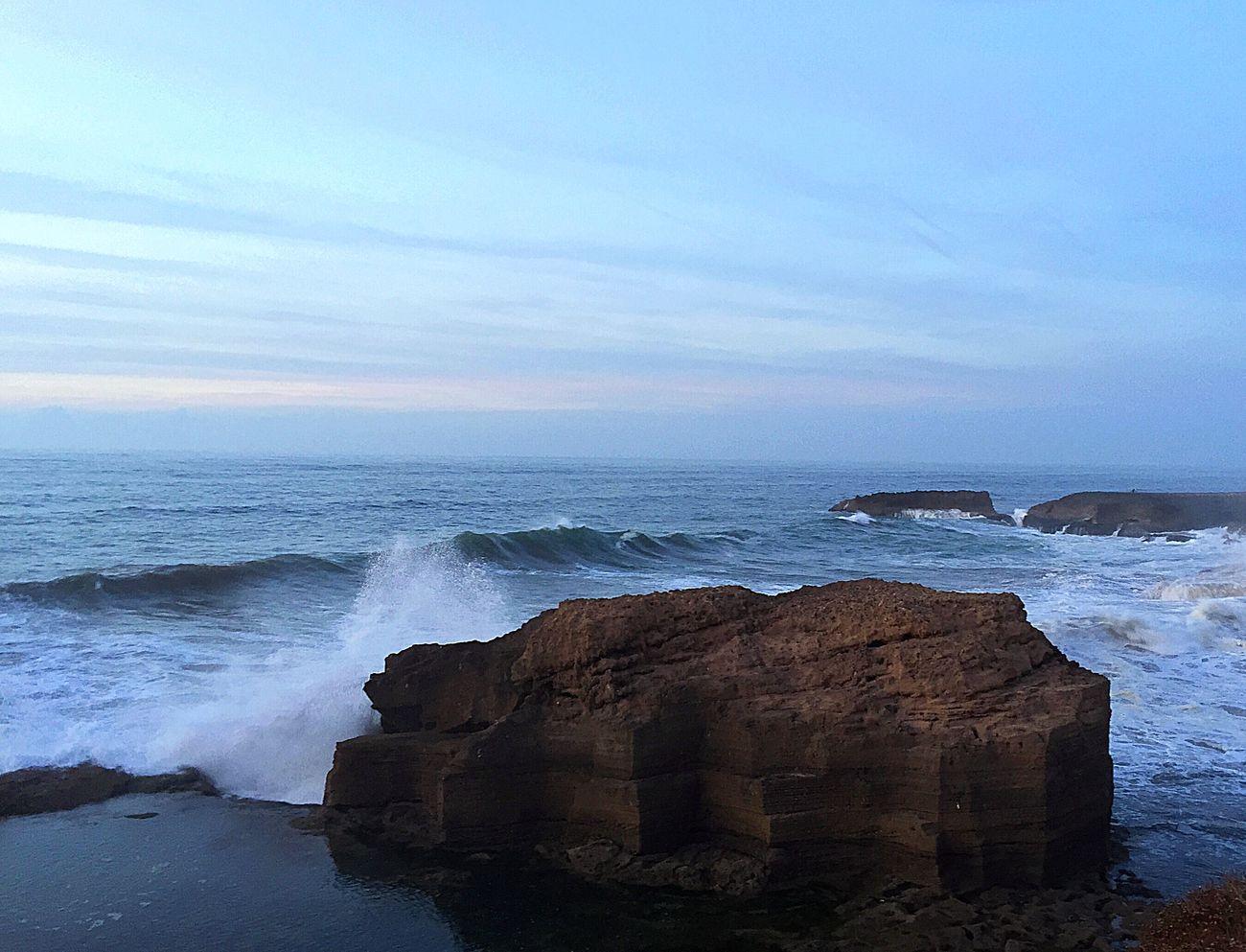 Massive waves over seaside rocks Rock Rocks Seaside Sea Sunset Waves Waves Crashing Ocean Waves Waves, Ocean, Nature EyeEm Nature Lover