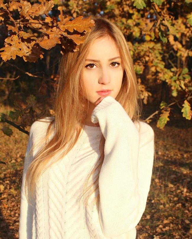 Autumn Beauty Girl Polishgirl Likeback Vsco Love  Bella