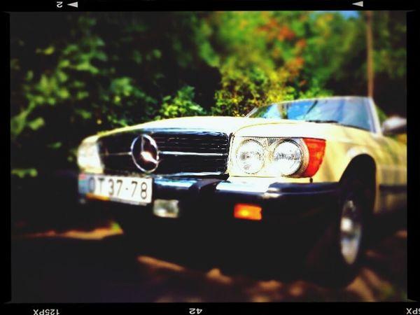 Mercedes-Benz Cabrio Ride Oldtimer Fancy Time