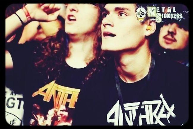 Concert Live Music Metal Anthrax live in Colmar, France - Summer 2013