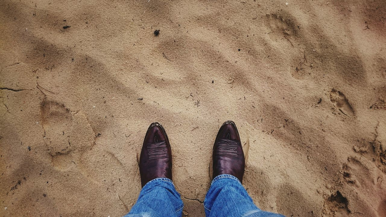 Beautiful stock photos of cowboy, Australia, Casual Clothing, High Angle View, Human Body Part
