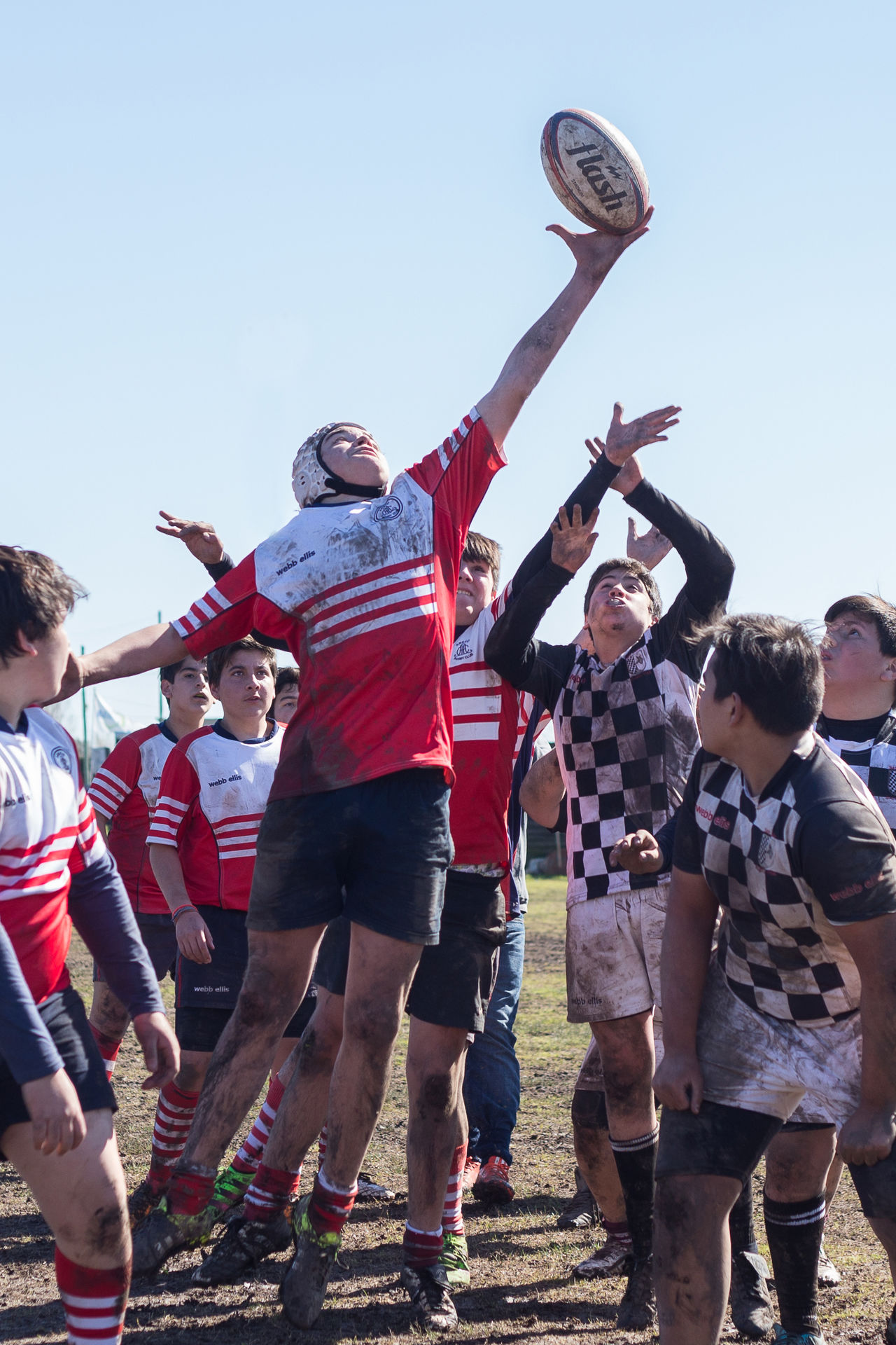Boys Casual Clothing Childhood Clear Sky Day Deporte Full Length Giles, Leisure Activity Lifestyles Low Angle View Medium Group Of People Men Outdoors People Playing Real People Rugby Sky Sport Sports Team Standing Togetherness First Eyeem Photo