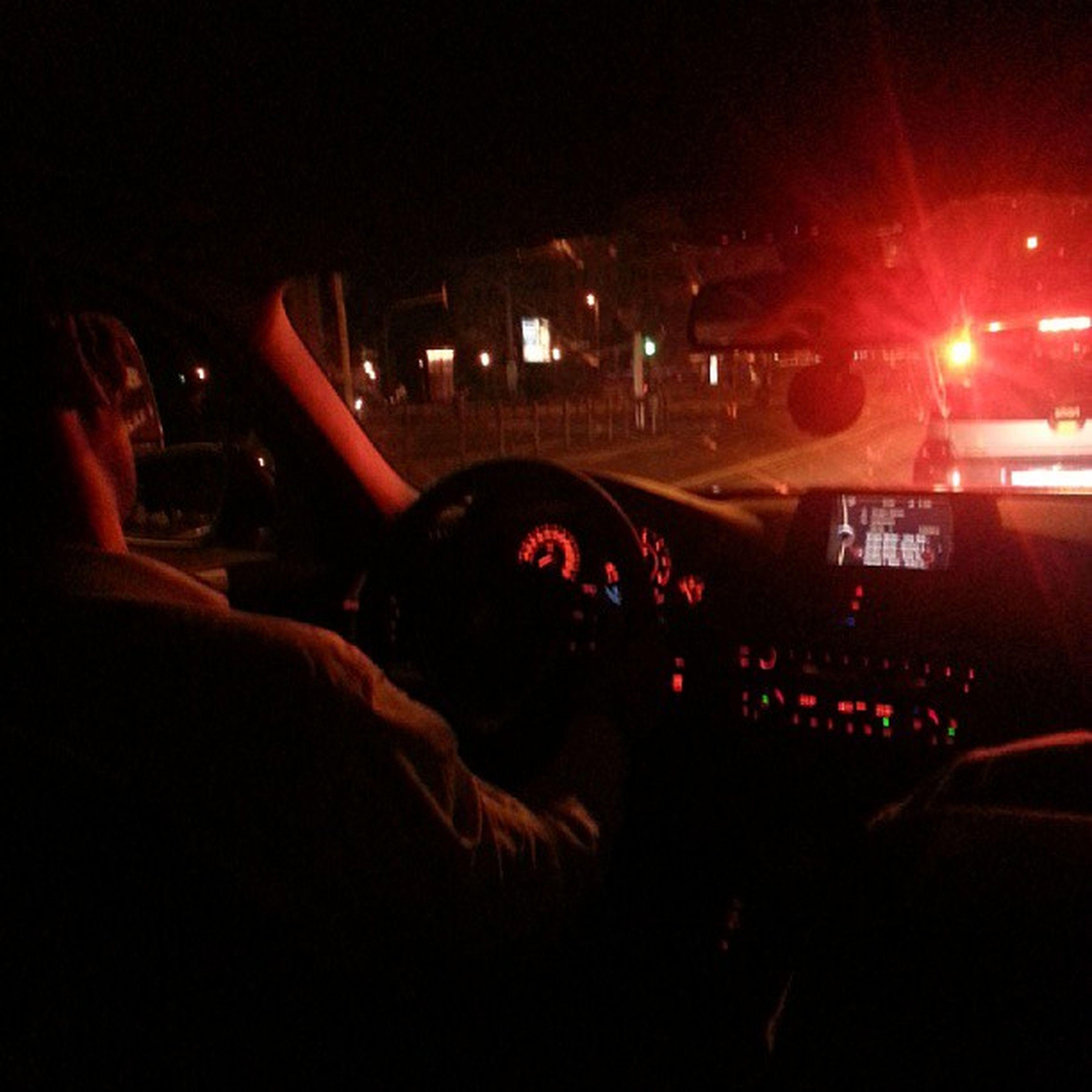 illuminated, night, transportation, mode of transport, land vehicle, car, lifestyles, vehicle interior, leisure activity, nightlife, men, blurred motion, travel, music, car interior, indoors, technology, arts culture and entertainment