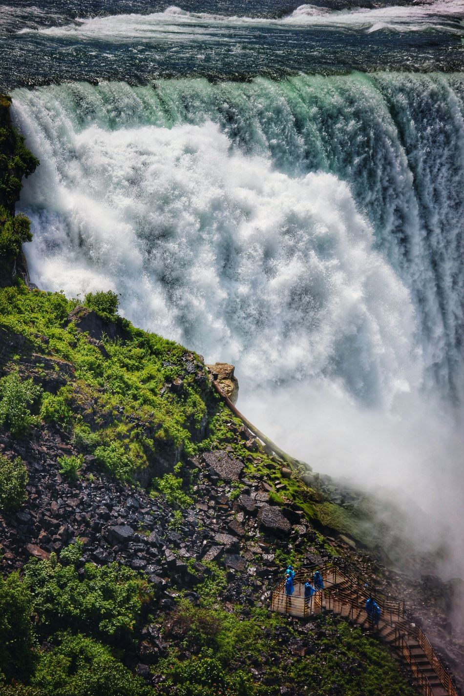 Beautiful stock photos of niagara falls, Beauty In Nature, Blurred Motion, Day, Environment