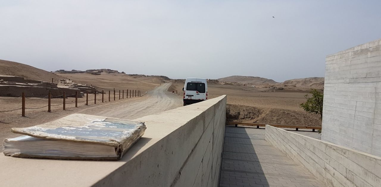 Desert Sand Outdoors Sand Dune Check This Out! Travel Destinations Built Structure Building Exterior Pachacamac Lima,Perú