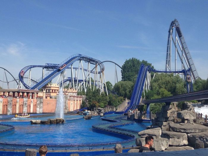 Europa Park Rollercoaster First Eyeem Photo
