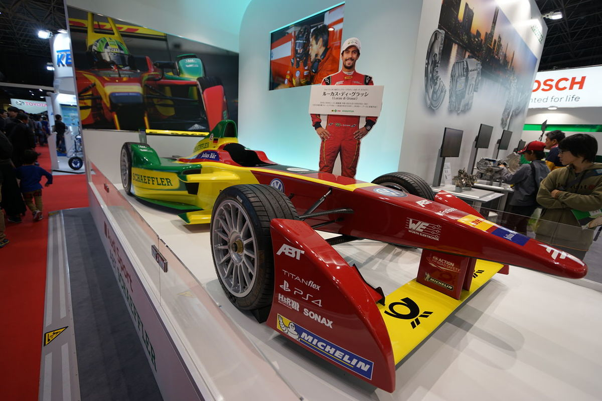 Formula E Formula Car Racing Car Car Snapshot Taking Photos Tokyo Motor Show 2015 Enjoying Life