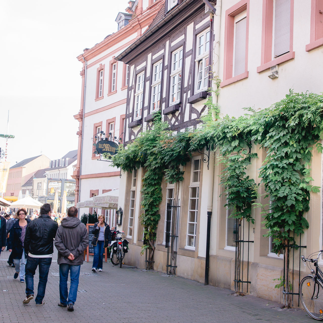 Adult Adults Only Architecture Building Exterior Built Structure City Day EyeEmNewHere Germany Half-timbered House Men Outdoors People Real People Rheinland-Pfalz  Speyer Travel Windmade